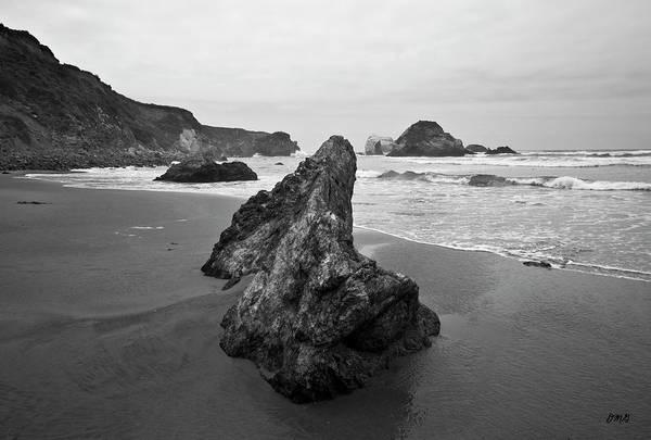 Photograph - Sand Dollar Beach I Bw by David Gordon