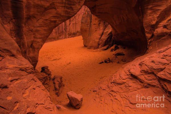 Sand Dune Arch - Arches National Park - Utah Art Print