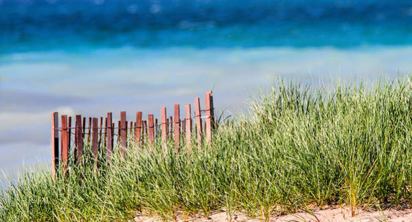Photograph - Sand Dune Fence by Dan Sproul