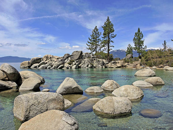 Photograph - Sand Harbor Boulders by Lynda Lehmann
