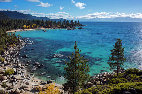 Photograph - Sand Harbor Lookout By Brad Scott  by Brad Scott