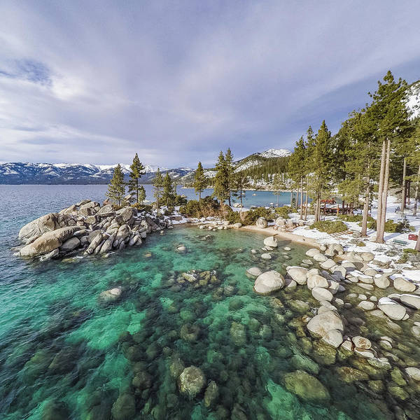 Sand Harbor Views Art Print