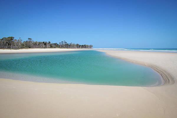Sand Island Paradise Art Print