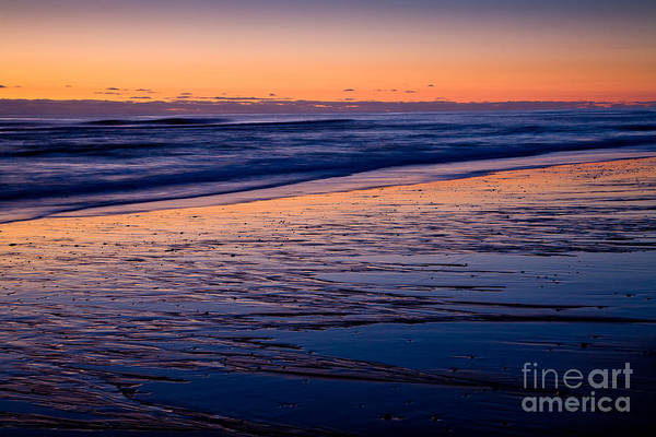 Photograph - Sand Patterns In Purple by Susan Cole Kelly