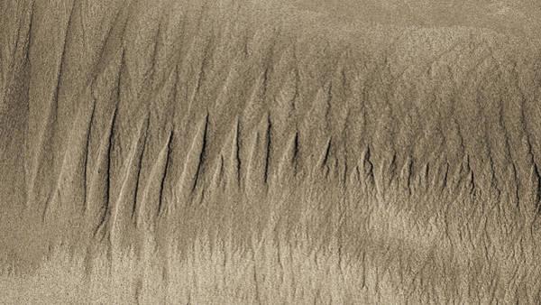 Photograph - Sand Patterns On The Beach 3 by Steven Ralser