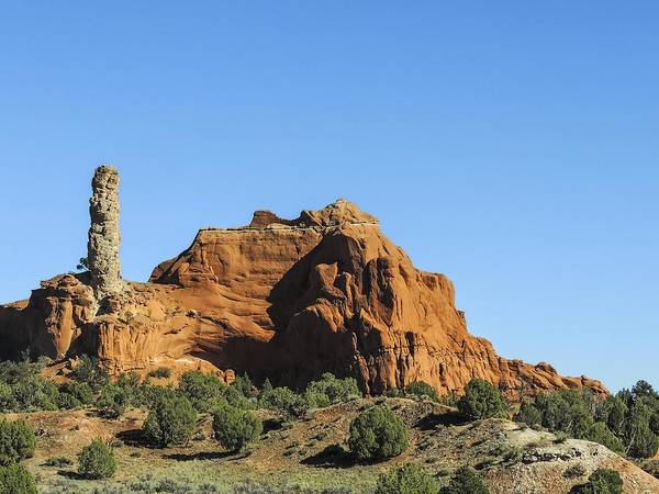 Photograph - Sand Pipe Spire And Monolith by NaturesPix