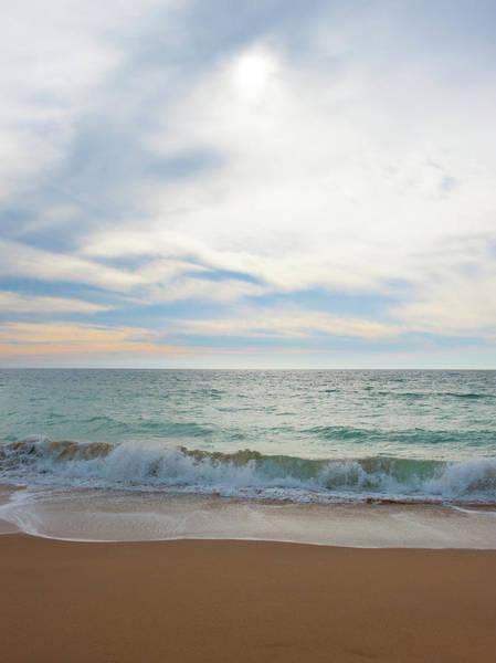 Photograph - Sand, Sea And Sky II by Helen Northcott