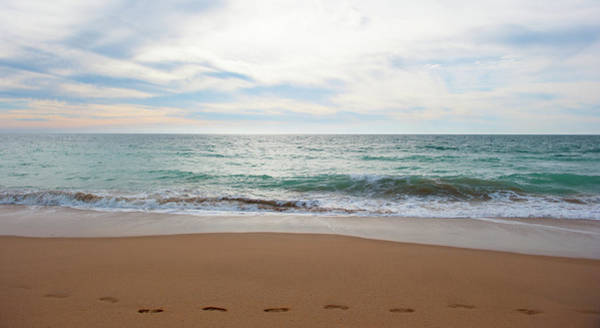 Photograph - Sand, Sea And Sky IIi by Helen Northcott