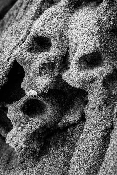 Photograph - Sand Skulls by Matteo Viviani