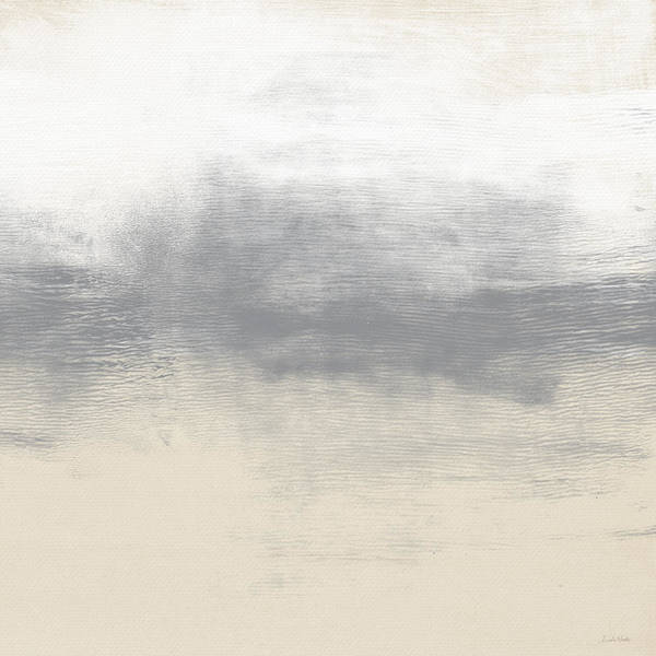 Grey Skies Wall Art - Painting - Sand Swept- Abstract Art By Linda Woods by Linda Woods