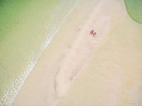 Sandbar Time Art Print