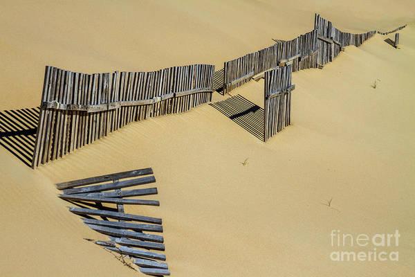 Photograph - Sandbreaks by Heiko Koehrer-Wagner