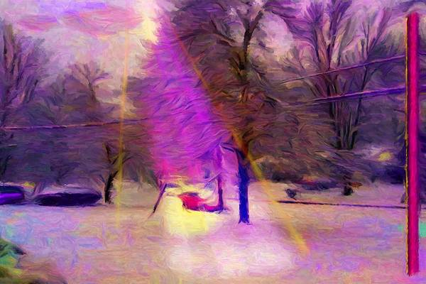 Digital Art - Sandburg Drive by Caito Junqueira