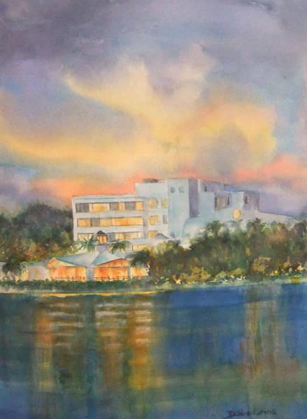 Painting - Sandcastle Retreat  by Debbie Lewis