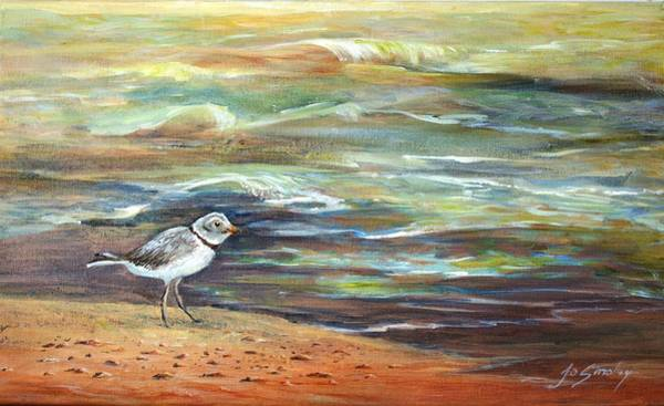 Painting - Sandpiper by Joanne Smoley