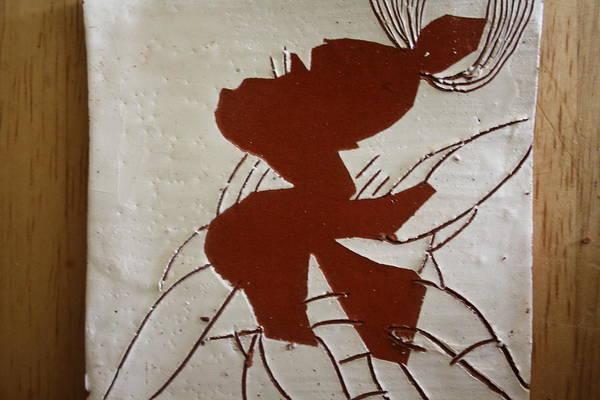 Ceramic Art - Sandra - Tile by Gloria Ssali