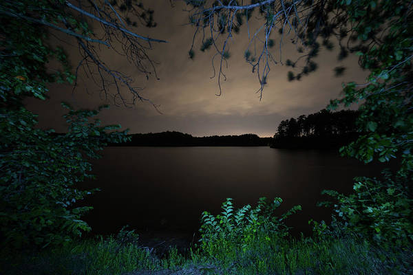 Photograph - Sandra Pond At Night 2 by Brian Hale