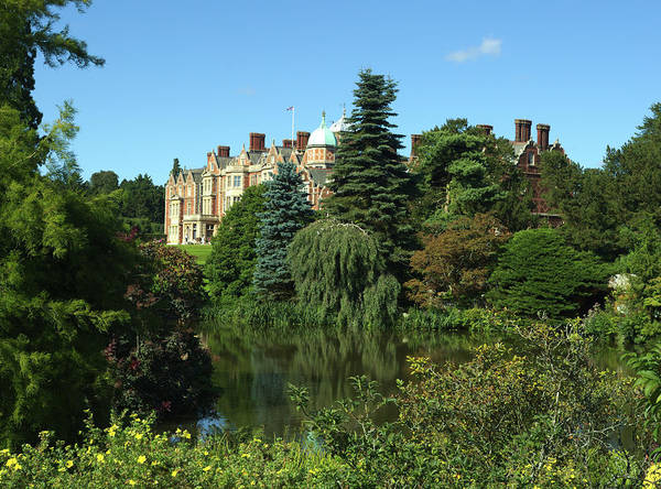 Photograph - Sandringham House In Norfolk England by Paul Cowan
