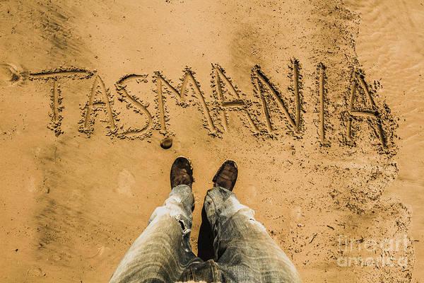 Wall Art - Photograph - Sands Of Tasmania by Jorgo Photography - Wall Art Gallery