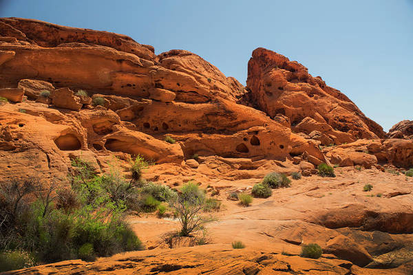Wall Art - Photograph - Sandstone Caves Valley Of Fire by Frank Wilson