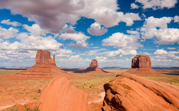 Photograph - Sandstone Citadel by Michael Blanchette