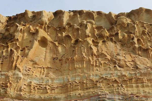 Photograph - Sandstone Cliff - 4 by Christy Pooschke