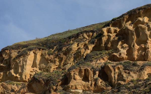 Photograph - Sandstone Cliff - 5 by Christy Pooschke