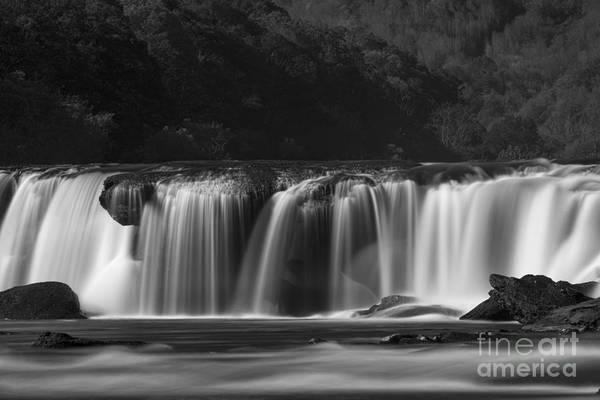 Photograph - Sandstone Falls Silky Stream by Dan Friend