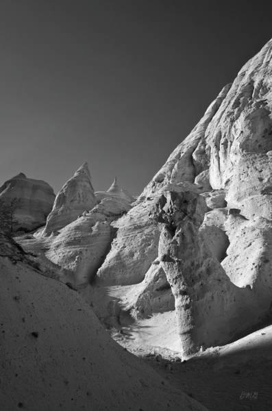 Photograph - Sandstone Landscape I Bw by David Gordon
