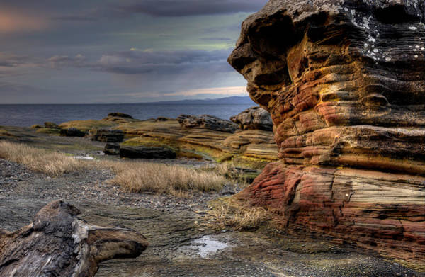 Photograph - Sandstone by Randy Hall