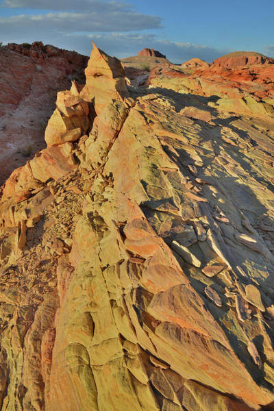 Photograph - Sandstone Steeple In Valley Of Fire by Ray Mathis