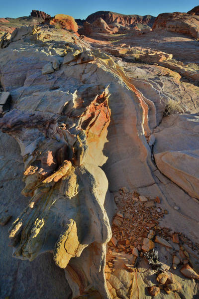 Photograph - Sandstone Waves In Valley Of Fire by Ray Mathis