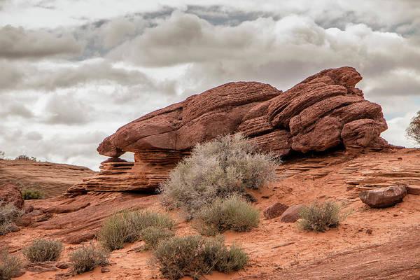 Photograph - Sandstone Window by Teresa Wilson