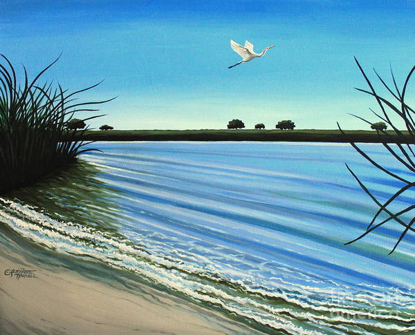 Painting - Sandy Beach by Elizabeth Robinette Tyndall