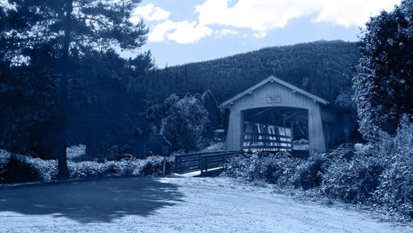 Sandy Creek Covered Bridge Art Print