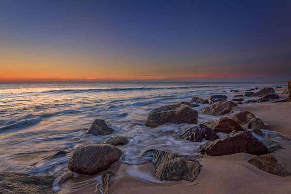 Photograph - Sandy Hook At Sunrise by Rick Berk