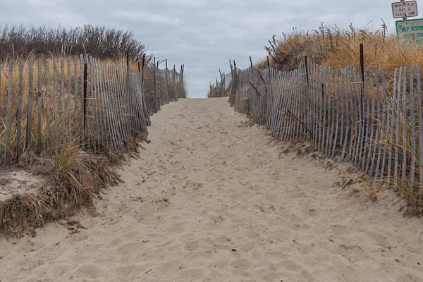 Photograph - Sandy Path At Rexhame Beach by Brian MacLean