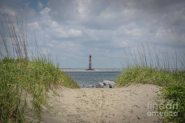 Photograph - Sandy Path To The Lighthouse by Dale Powell