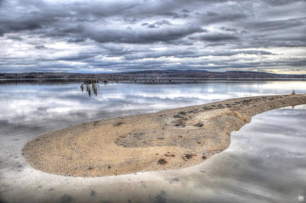 Photograph - Sandy Point by John Meader