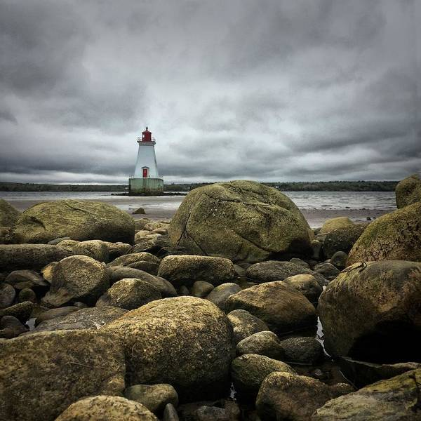 East Point Photograph - Sandy Point Lighthouse by Christine Sharp