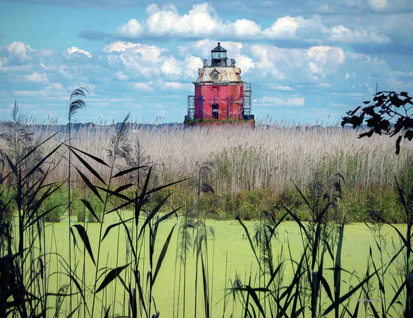 Sandy Point State Park Photograph - Sandy Pt Shoal Lighthouse by Brian Wallace