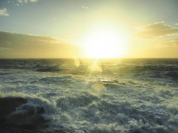 Photograph - Sandy Sunrise by Ian Johnson