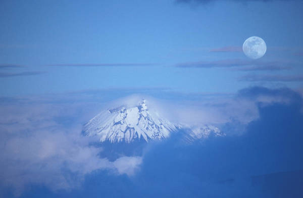 Moonscape Photograph - Sangay Volcano Ecuador by Panoramic Images
