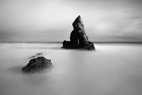 Wall Art - Photograph - Sango Bay Stack by Grant Glendinning