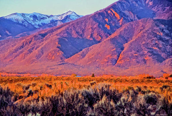 Photograph - Sangre De Cristo  by Charles Muhle