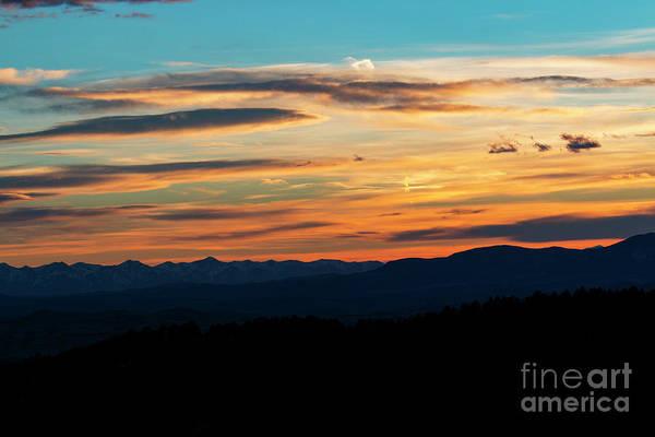 Photograph - Sangre De Cristo Mountain Sunst by Steve Krull