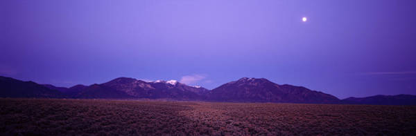Sangre De Cristo Photograph - Sangre De Cristo Mountains At Sunset by Panoramic Images