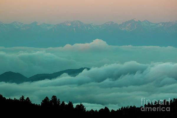 Photograph - Sangre De Cristo Stormy Fog by Steve Krull