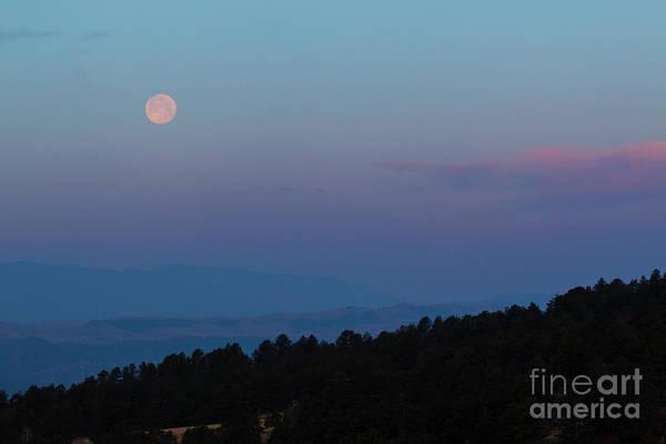 Photograph - Sangre De Cristo Sunrise Moonset by Steve Krull