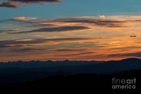 Photograph - Sangre De Cristo Sunset by Steve Krull